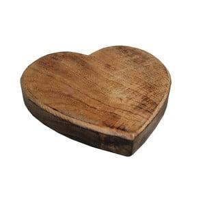 Podkładka drewniana pod garnek Antic Line Heart