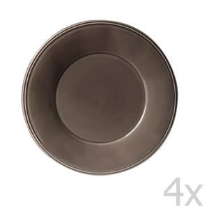 Zestaw 4 talerzyków deserowych Constrance Pepper, 23.5 cm