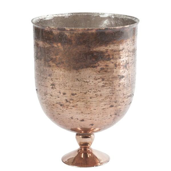Okrągły wazon na nóżce Antique