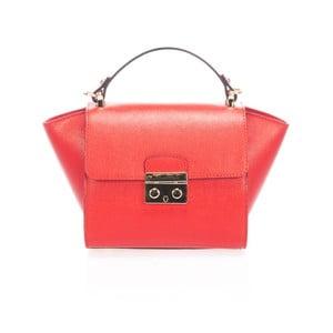 Skórzana torebka Saffiane, czerwona