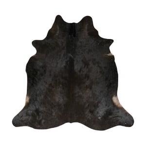 Czarna skóra bydlęca, 190x175 cm