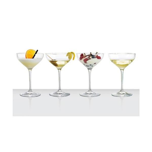 Zestaw 4 kieliszków Dessert Champagne