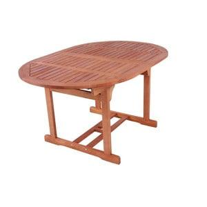 Ogrodowy stół rozkładany z drewna bangkirai ADDU Sapa