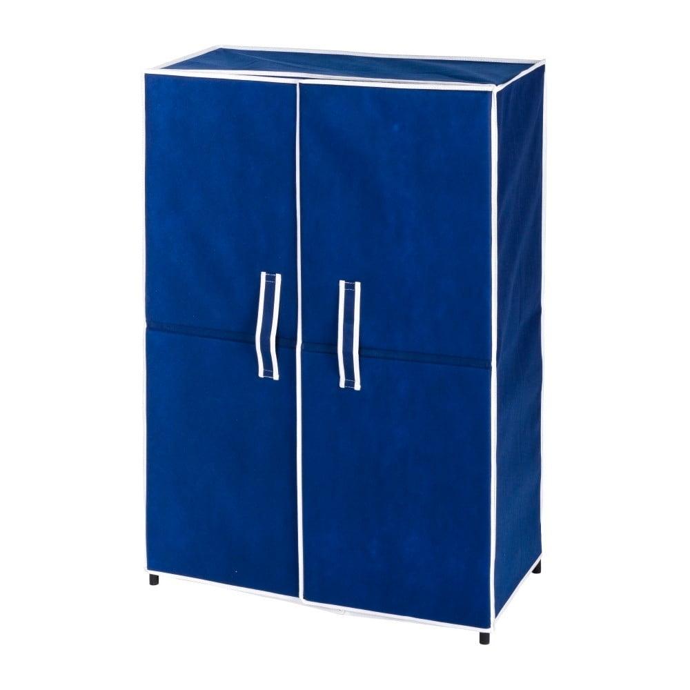 Niebieska szafka na 15 par butów Wenko Ocean