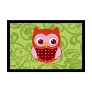 Wycieraczka Green Owls, 40x60 cm