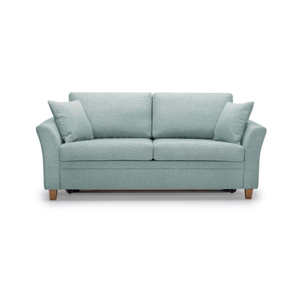 Miętowa sofa 3-osobowa Scandic Sonia