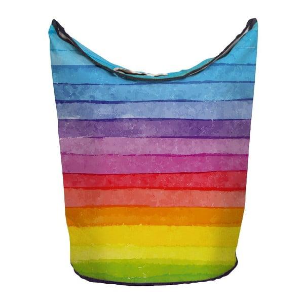Kosz na bieliznę Chalk Rainbow