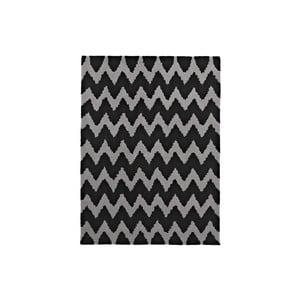 Dywan Hongkong Black Grey, 120x170 cm