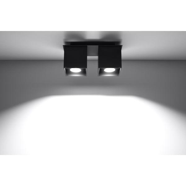 Czarna lampa sufitowa Nice Lamps Geo 2