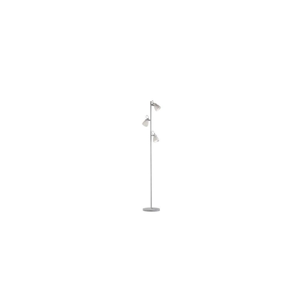 Szara lampa stojąca Trio Concrete, wys. 1,6 m