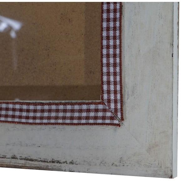 Biała ramka na zdjęcia Mendler Shabby,19x24 cm