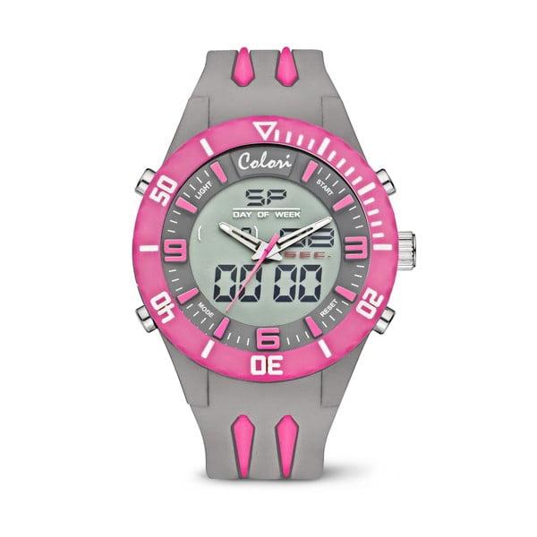 Zegarek Colori Anadigi 48 Neon Pink
