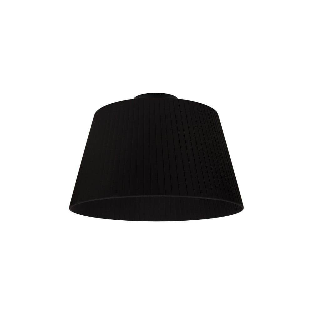 Czarna lampa sufitowa Sotto Luce KAMI CP,Ø36cm