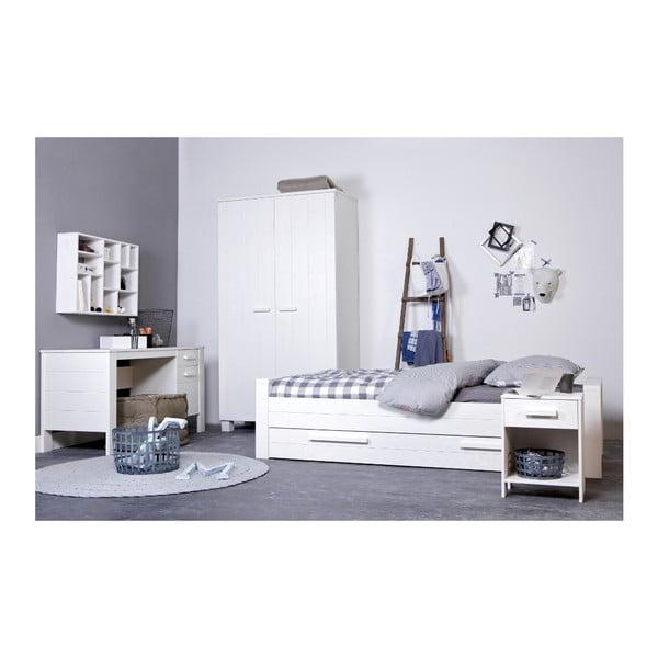 Białe łóżko Robin 90x200 cm