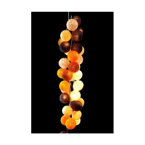 Girlanda świetlna Caramel Swirl, 50 światełek
