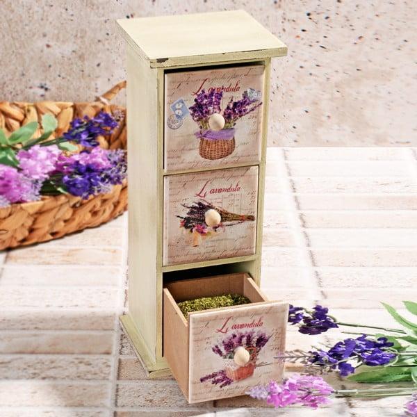 Drewniane pudełko na przyprawy Drawers