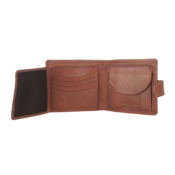 Skórzany portfel Oscar Natural Veg