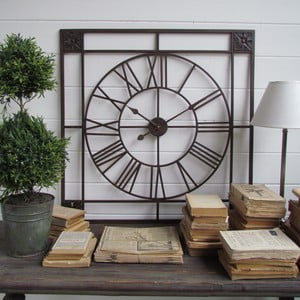 Zegar ścienny Industry Orchidea