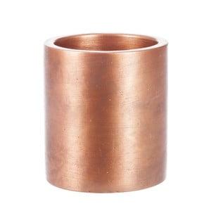 Kwietnik Copper Cer, 8x8 cm