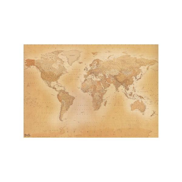 Tapeta wielkoformatowa Stara mapa, 366x254 cm