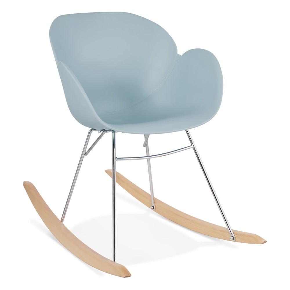 Niebieski fotel bujany Kokoon Knebel