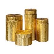 Zestaw 4 pojemników Ixia Golden Age