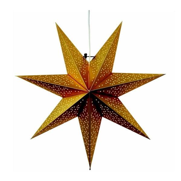 Gwiazda świecąca Dot Gold, 54 cm
