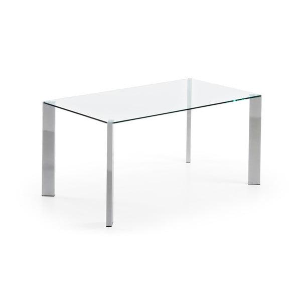 Stół do jadalni Corner, 190x90cm, chromowane nogi
