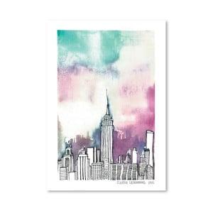 Plakat Neon Sky, 30x42 cm