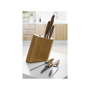 Bambusowy stojak z nożami Chillo