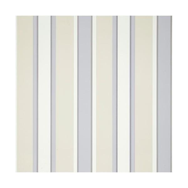 Tapeta Stripe Charcoal, 1000x52 cm