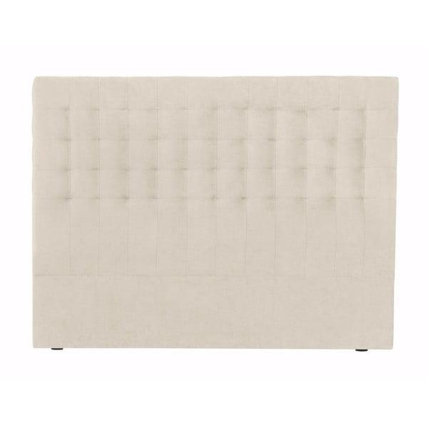 Kremowy zagłówek łóżka Windsor & Co Sofas Nova, 200x120 cm