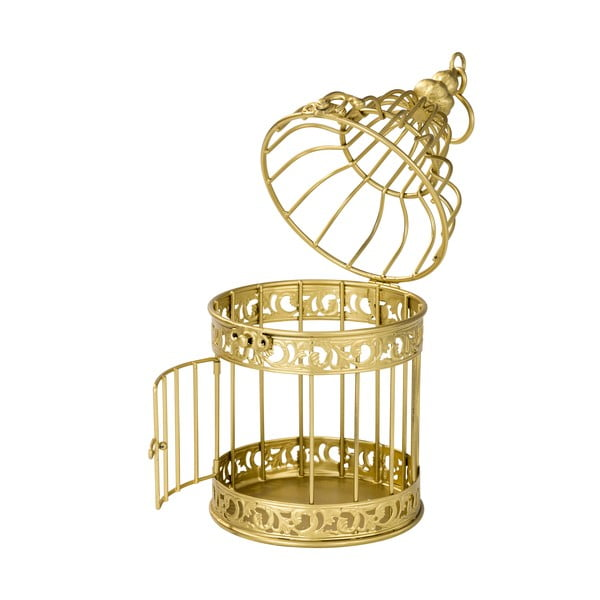 Lampion Gold Birdcage