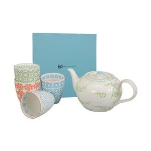 Porcelanowy zestaw do herbaty Orient Green