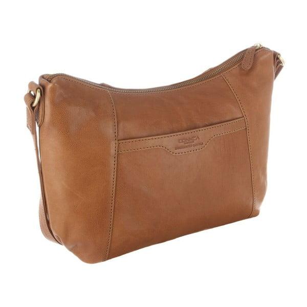 Skórzana torba  Emilia Dark Tan
