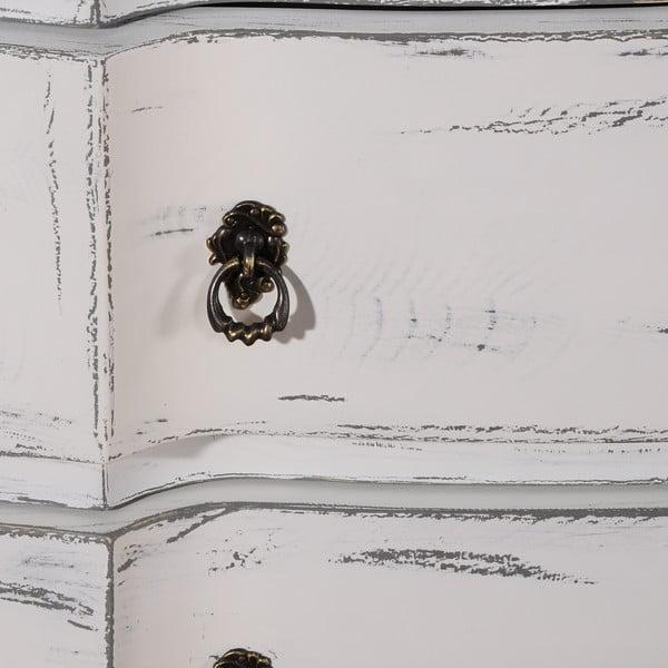 Komoda z 3 szufladami White/Grey