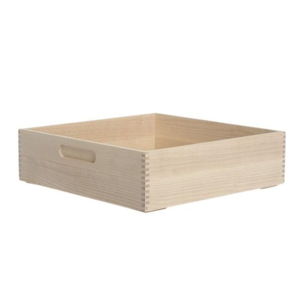 Pudełko na pieczywo Iris Hantverk Birch, 31x31x8,4 cm