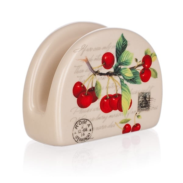 Ceramiczny serwetnik Banquet Cherry