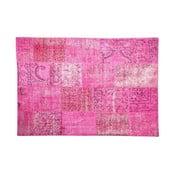 Dywan wełniany Allmode Pink, 180x120 cm