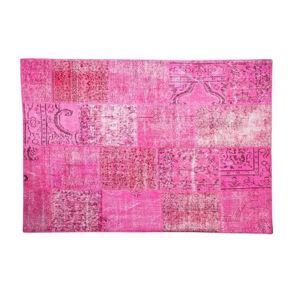 Dywan wełniany Allmode Pink, 150x80 cm