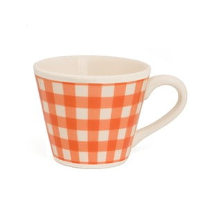 Kubek Nigelli Lawson Gingham Orange