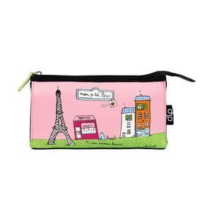 Kosmetyczka Helen P'tit Paris, pink/green