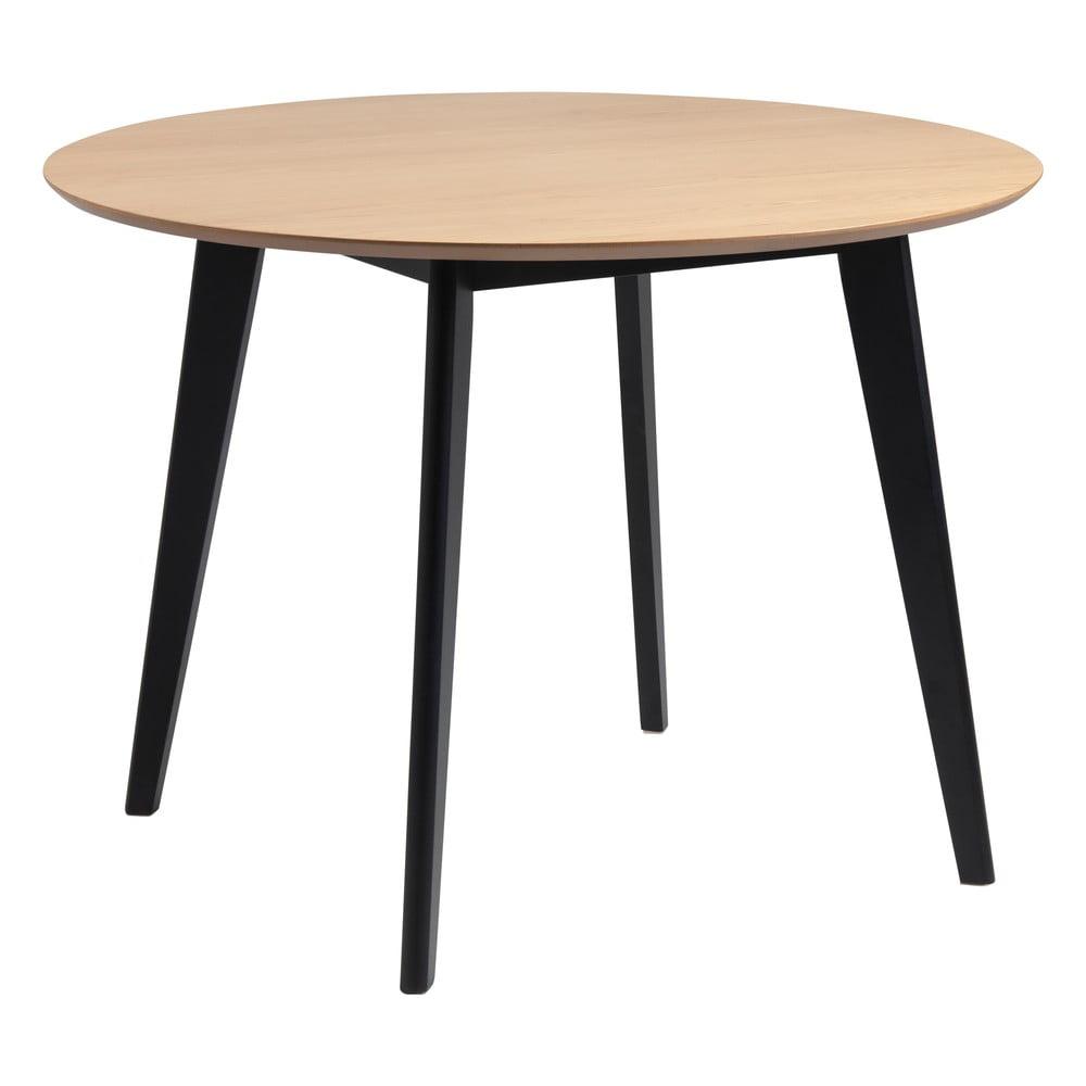 Stół w dekorze dębu Actona Roxby, ø 105 cm