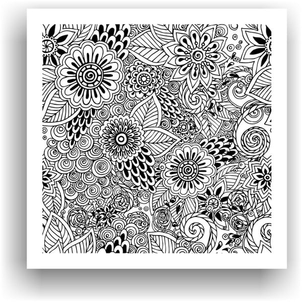 Obraz do kolorowania 65, 50x50 cm