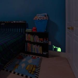 Naklejka świecąca w ciemności Mouse Hole and Laundry