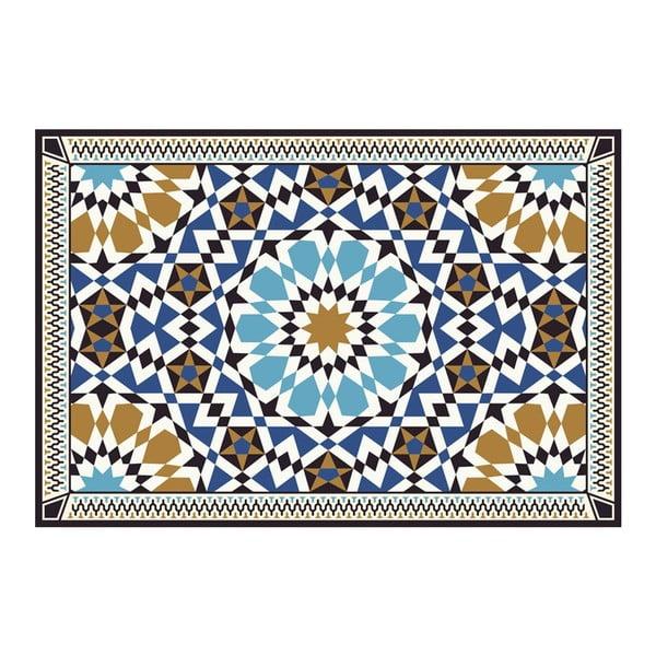 Dywan winylowy Devra Blue, 52x240 cm