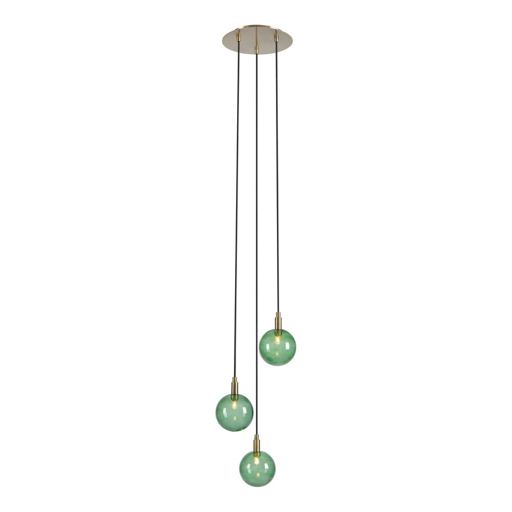Zielona lampa wisząca Markslöjd Uno Pendant 3L