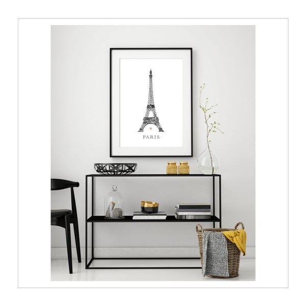 Plakat Leo La Douce Tour Eiffel, 21x29,7cm