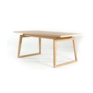 Stół do jadalni z drewna dębowego Ellenberger design Private Space Eiche,90x90cm