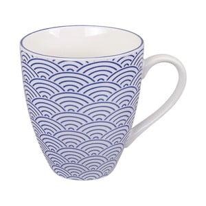 Niebieski kubek porcelanowy Tokyo Design Studio Wave